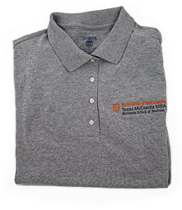 Polo Shirt with McCombs MBA logo