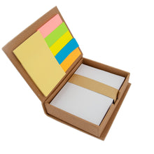 Load image into Gallery viewer, Inside-Recycled Sticky Note Memo Case with UT Logo