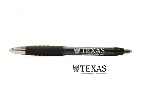 Black uni-ball Signo 207 gel pen, The University of Texas at Austin
