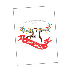 Boxed Cards - University of Texas Holiday Themed