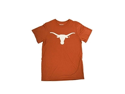 Longhorn Short Sleeve Burnt Orange Tee Shirt
