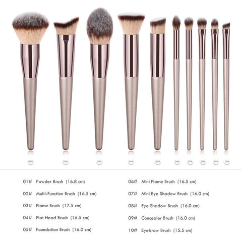 New Women's Fashion Brushes 1PC Wooden Foundation Cosmetic Eyebrow