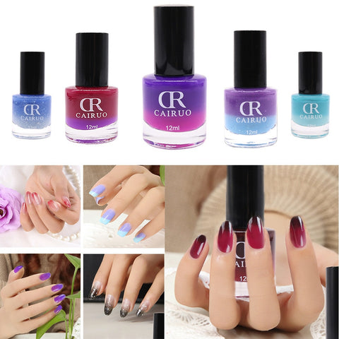 Nail Polish Beauty Fast Drying Color Temperature  Changed Nail Polish 26 Wonderful Color