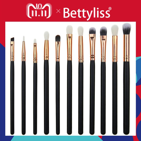 Bettyliss 12pcs Eyeshadow Makeup Brushes Set Pro pinceaux maquillage eyebrow brush