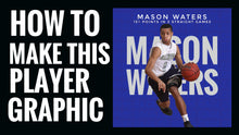 Load image into Gallery viewer, Basketball Graphic Design Course 1 for iPhone