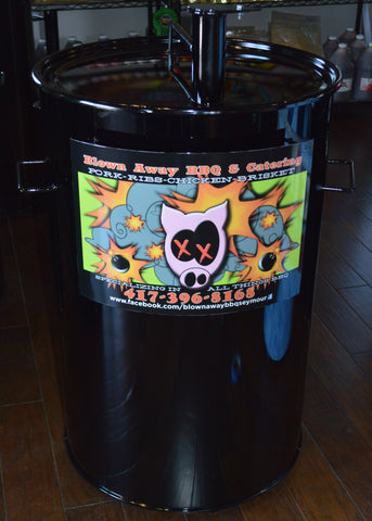 Drum with Logo
