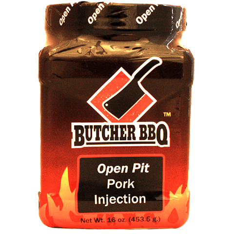 Butcher BBQ Open Pit Pork Injection - 16 oz.