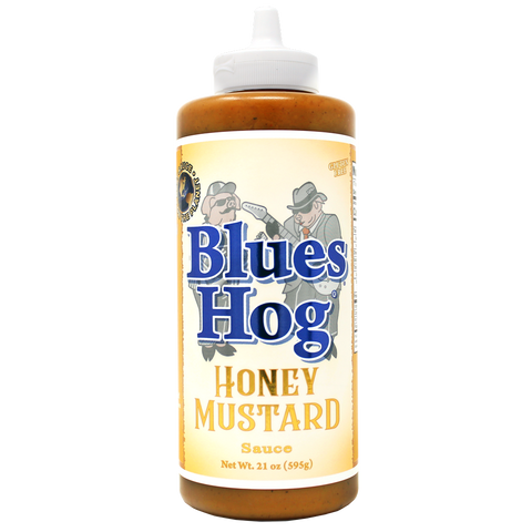 Blues Hog Honey Mustard Sauce Squeeze Bottle - 21 oz.