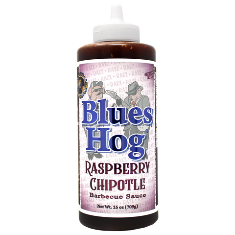 Blues Hog Raspberry Chipotle BBQ Sauce Squeeze Bottle - 25 oz.