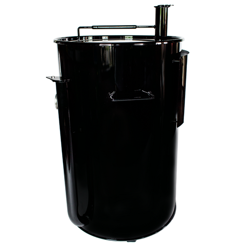 Gateway Drum Smoker® 55G - Black with Logo Plate