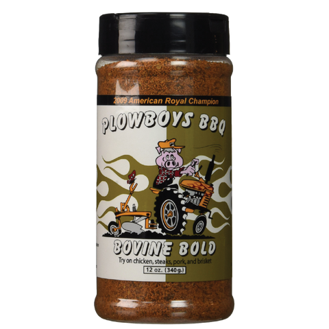 Plowboys BBQ Bovine Bold Rub - 12 oz.