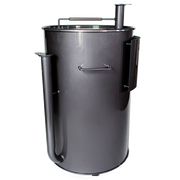 Gateway Drum Smoker® 55G - Charcoal with Logo Plate