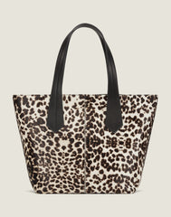 Tab Tote in Snow Leopard