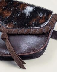 Detail of calf hair on Everyday belt bag