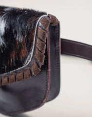 Detail of fringe of Everyday belt bag