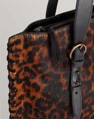 Handle shot of Everyday Tote in Leopard