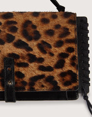Leopard detail shot of Everyday clutchette