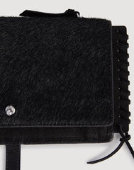 Detail shot of black Everyday Clutchette