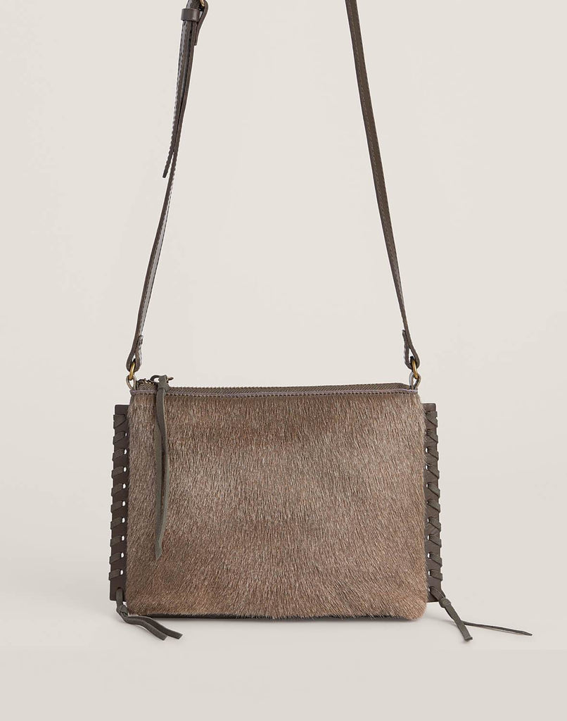 Front shot of Everyday crossbody in Natural