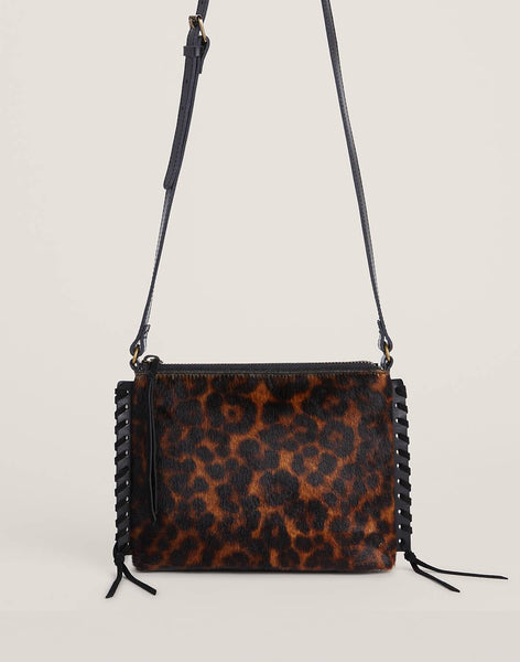 Front shot of Leopard Everyday crossbody