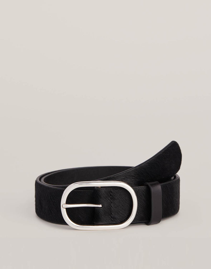 Front shot of Black Everyday Belt