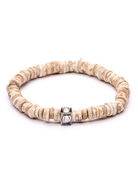 Front shot of The Shell Stopper Bracelet