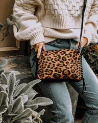 Everyday Crossbody in Leopard