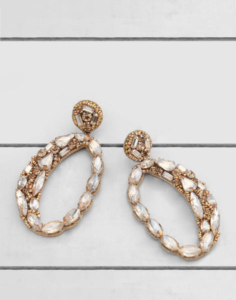 Freida Earring in Gold