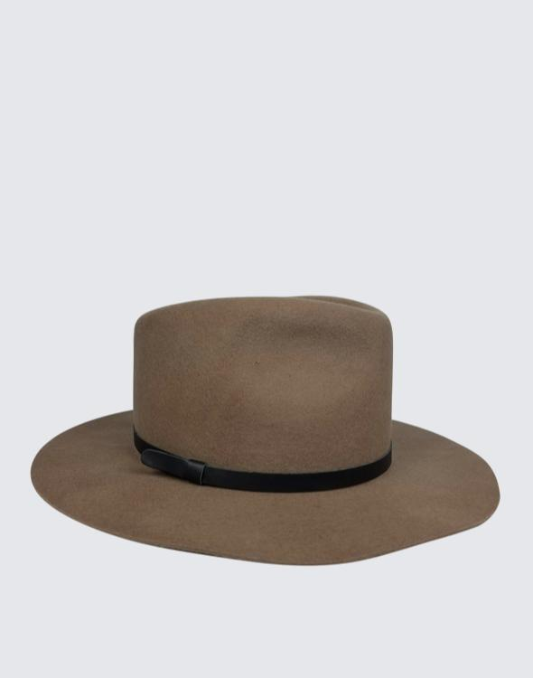 Front shot of Brady Everyday Hat in Taupe