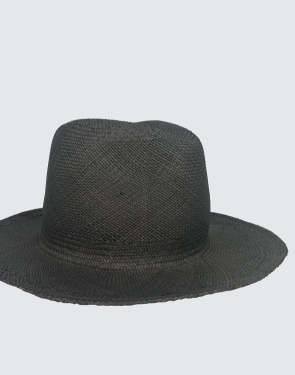 Side shot of Navy Continental Hat