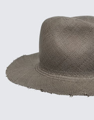 Side shot of Fringed Continental Hat