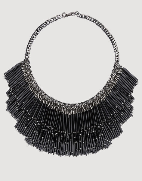 Yvette Necklace in Black