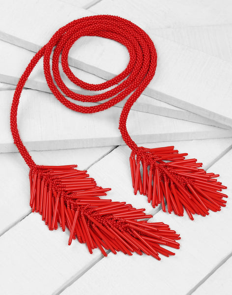 Wrylee Necklace in Red
