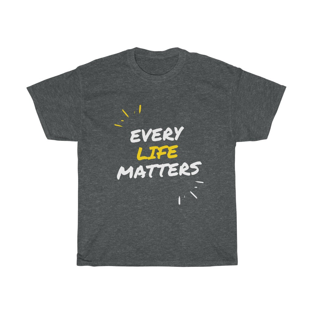 INspired Message Heavy Cotton TEE