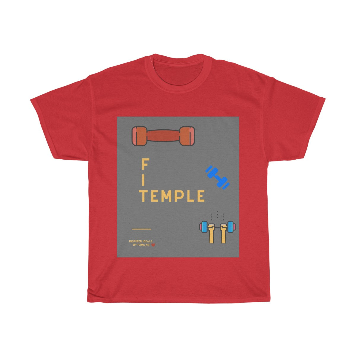 FIT TEMPLE INSPIRED TEE