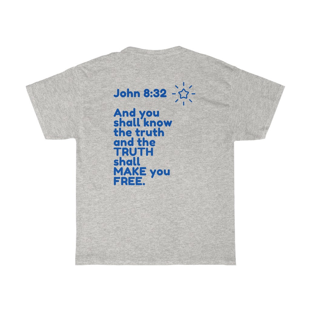 SEEK TRUTH SS 2sided INspired TEE