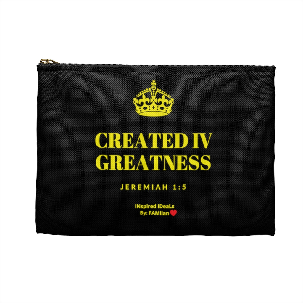 Created IV Greatness INspired Accessory Pouch