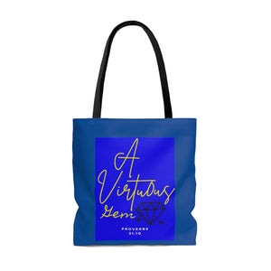 A Virtuous Gem INspired Tote Bag