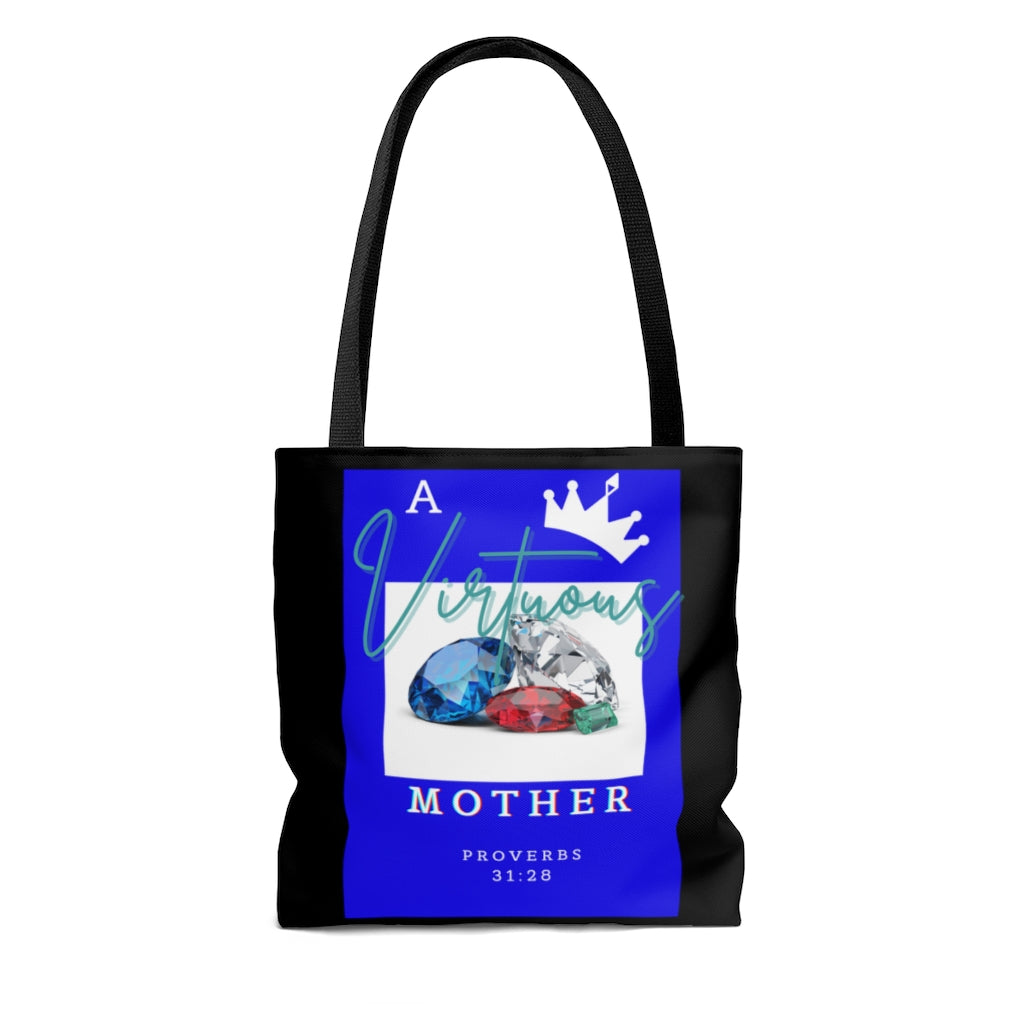 A Virtuous Mother AOP Tote Bag