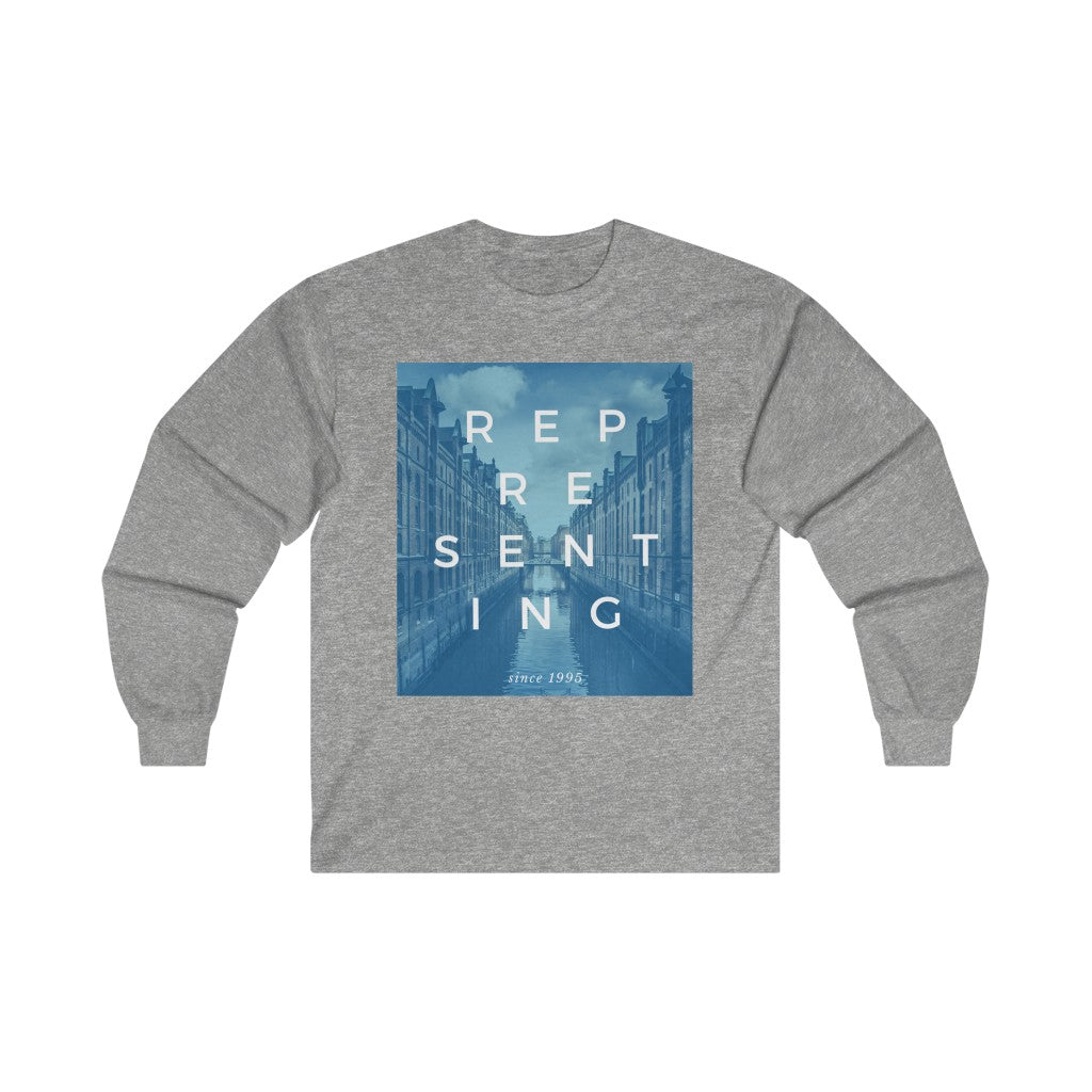 INspired (REP RE SENT ING) Long Sleeve TEE