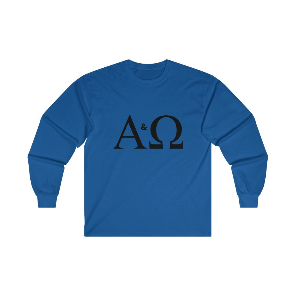 Alpha & Omega Long Sleeve INspired TEE