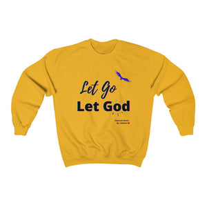 Let GO and Let GOD Heavy Blend™ Crewneck Sweatshirt