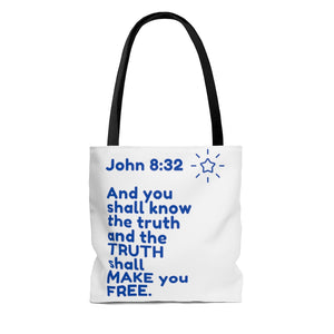 SEEK TRUTH  INspirational Tote Bag