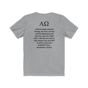 Alpha & Omega INspired Jersey Tee