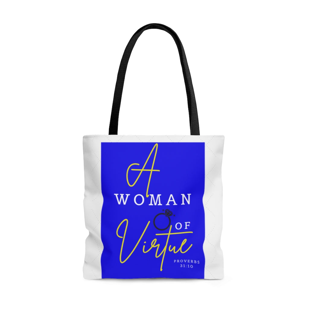 A Woman of Virtue Tote Bag