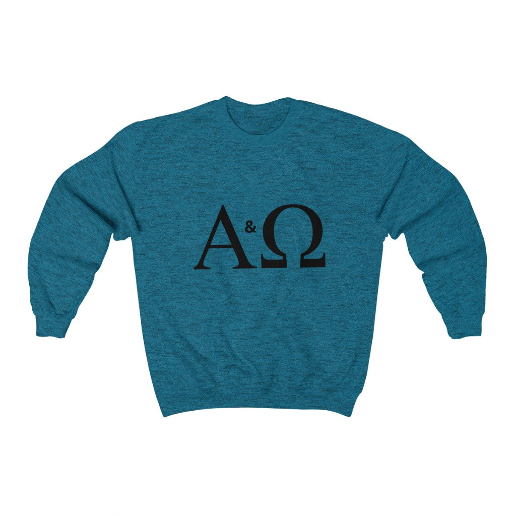 Alpha & Omega Heavy Blend™ Crewneck INspired Sweatshirt