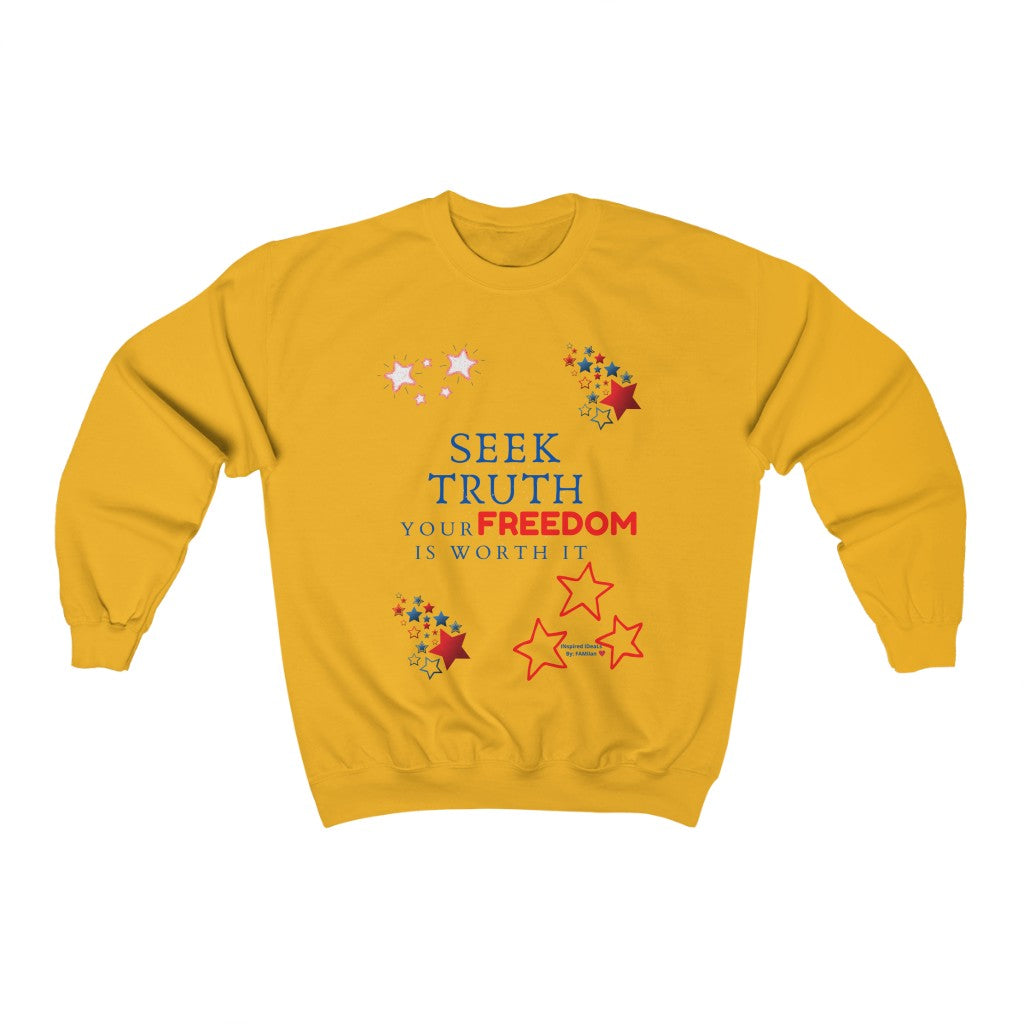 SEEK TRUTH INspired Sweatshirt