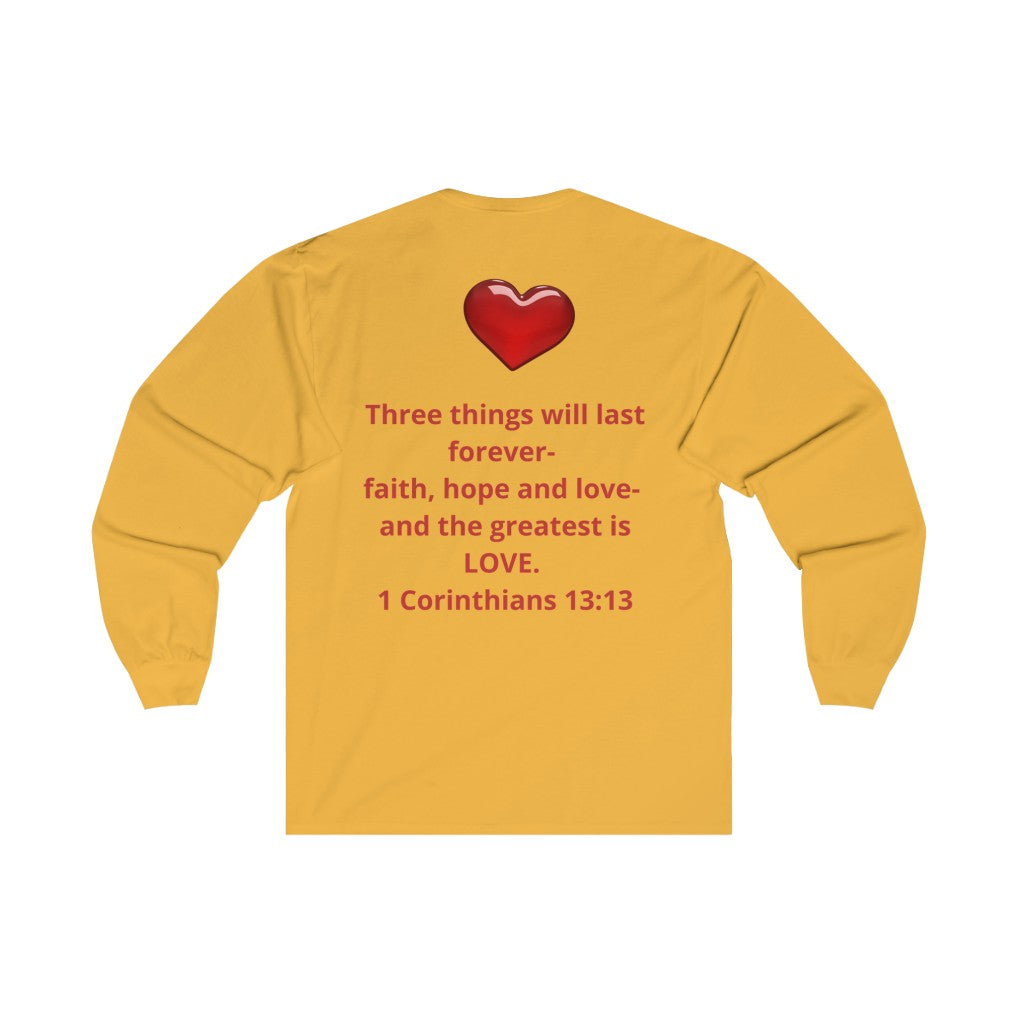 REAL LOVE NEVER Fails Long Sleeve TEE