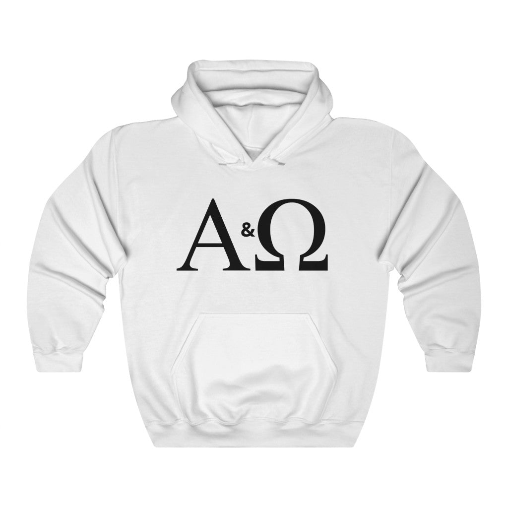 Alpha & Omega Heavy Blend™ Hooded Sweatshirt