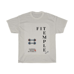 FIT TEMPLE 2 INspired Heavy Cotton TEE